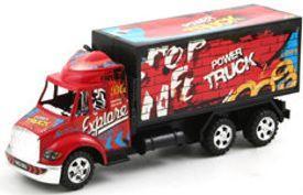 Грузовик Zhorya Power Truck 18 см красный В30665 грузовик pilsan moving truck 06 602 красный