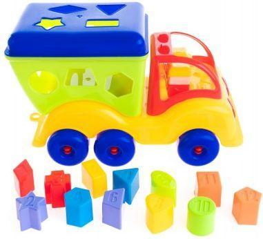 Набор Технопарк Силач разноцветный 15041 пластмастер машина сортер силач цвет желтый красный