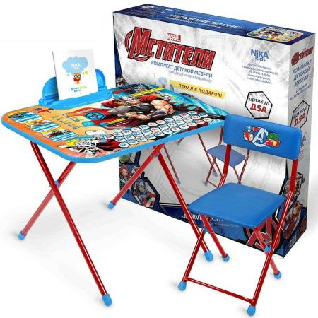 Набор мебели НИКА Набор мебели Marvel Мстители набор детской мебели ника disney д2у синий