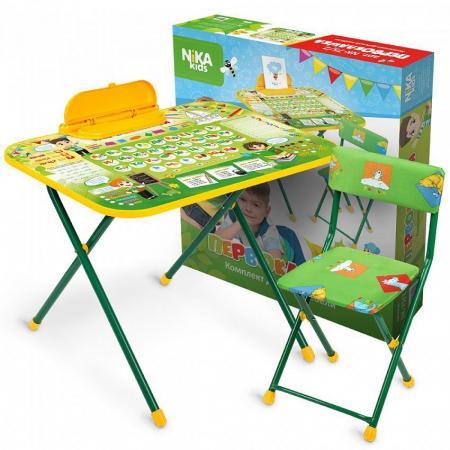 Набор мебели НИКА Набор мебели Первоклашка набор детской мебели ника disney д2у синий