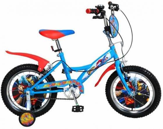 Велосипед двухколёсный Navigator Супермен 16 голубой велосипед двухколесный navigator супермен 12 голубой