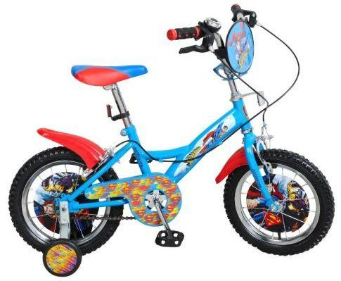 "Велосипед двухколёсный Навигатор Навигатор 14д Супермен сине/красн 14"" сине-красный ВН14158 велосипед двухколёсный навигатор barbie 14 kite тип вн14150к"