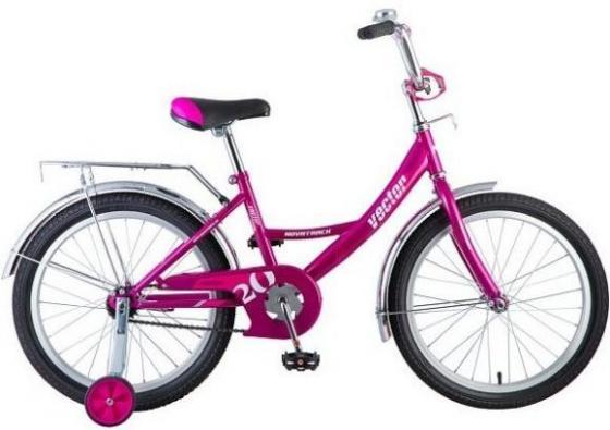 """Велосипед двухколёсный Novatrack NOVATRACK 20"""", Vector 20"""" фиолетовый 203VECTOR.VL8"""