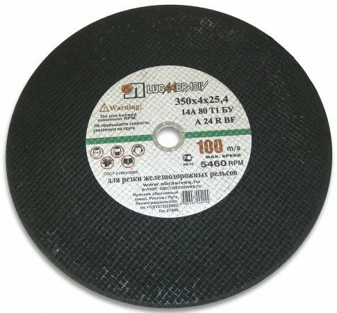 350 Х 4 Х 25,4 А24 д/рельс 100м/с ручн. металл цены онлайн