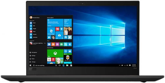 Ноутбук Lenovo ThinkPad P52s 15.6 1920x1080 Intel Core i7-8550U 256 Gb 8Gb nVidia Quadro P500 2048 Мб черный Windows 10 Professional 20LB000QRT ультрабук трансформер hp spectre x360 13 ae012ur 2vz72ea 2vz72ea