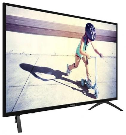 Телевизор LED Philips 40 40PFS4052/60 черный/FULL HD/200Hz/DVB-T/DVB-T2/DVB-C/USB (RUS) телевизор philips 48pft6300