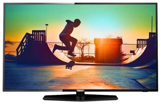 Телевизор LED Philips 49 49PUT6162/60 черный/Ultra HD/800Hz/DVB-T/DVB-T2/DVB-C/USB/WiFi/Smart TV (RUS) телевизор philips 32pft4100 60 full hd pmr 100 черный