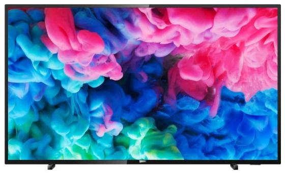 "Телевизор 55"" Philips 55PUS6503/60 черный 3840x2160 50 Гц Wi-Fi Smart TV RJ-45 Bluetooth цены"