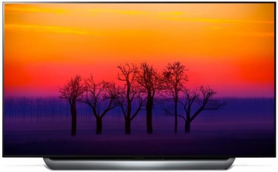 Телевизор LED 65 LG OLED65C8PLA серебристый серый 3840x2160 100 Гц Wi-Fi Smart TV RJ-45 Bluetooth