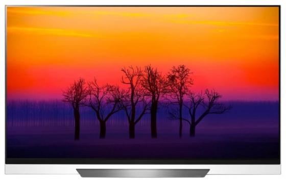 Купить Телевизор LED 65 LG OLED65E8PLA черный белый 3840x2160 100 Гц Wi-Fi Smart TV RJ-45 Bluetooth