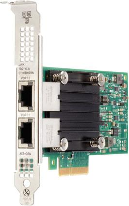 Адаптер HPE 817738-B21 Ethernet 10Gb 2-port 562T адаптер hpe qlogic qmh2562 8gb fibre channel host bus 451871 b21
