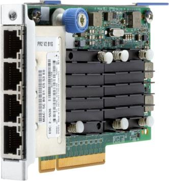 Купить Адаптер HPE 764302-B21 FlexFabric 10Gb 4-port 536FLR-T