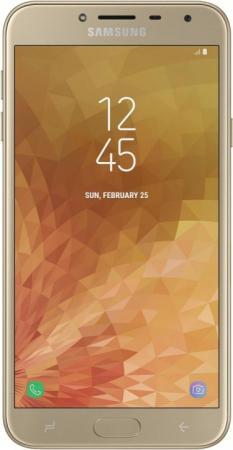 "Смартфон Samsung Galaxy J4 2018 золотистый 5.5"" 32 Гб LTE Wi-Fi GPS 3G SM-J400FZDHSER цена и фото"