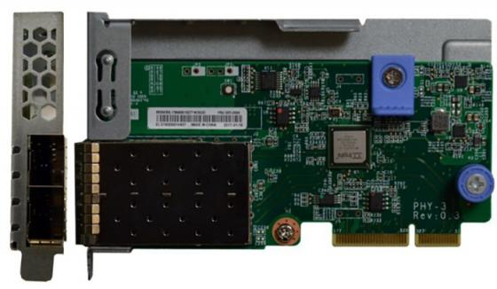 лучшая цена Адаптер Lenovo 7ZT7A00546 ThinkSystem 10Gb 2-port SFP+ LOM