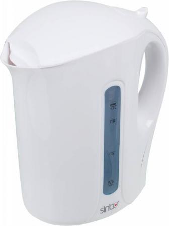 Чайник Sinbo SK 7315, 2000Вт, 1.7л, пластик, белый чайник электрический sinbo sk 7315 белый