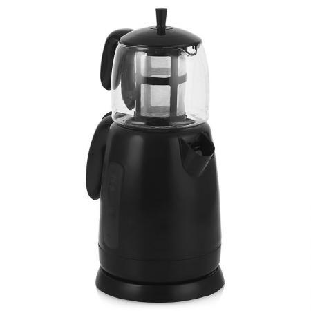 Чайник Sinbo STM 5700 2000 Вт чёрный 1.7 л пластик/стекло