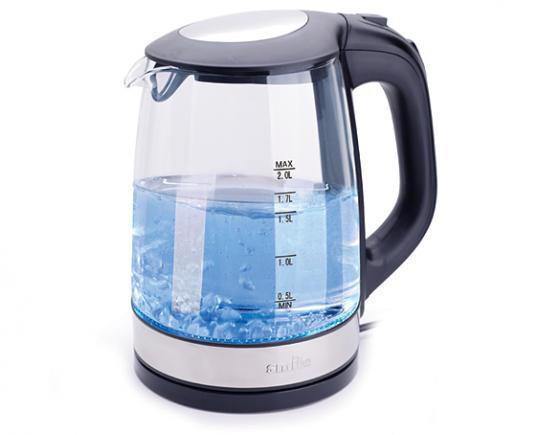 цена на Чайник Smile WK 5412, 2200Вт, 2л, стекло, черный