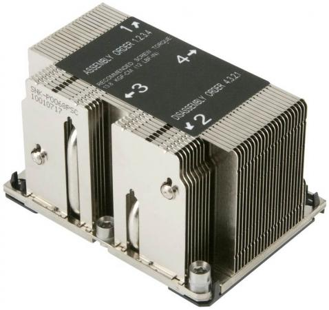 все цены на Радиатор SuperMicro SNK-P0068PSC