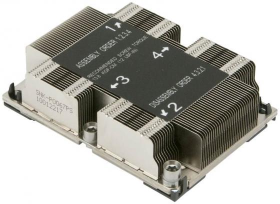 все цены на Радиатор SuperMicro SNK-P0067PS
