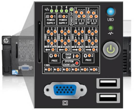 Модуль HPE 867996-B21 DL360 Gen10 SFF SID Kit