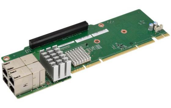 Переходная плата HPE 873732-B21 DL38X Gen10 4-port 8 NVMe Secondary Slim SAS Riser цена и фото