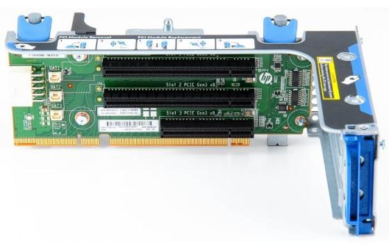 Переходная плата HPE 870548-B21 DL Gen10 x8/x16/x8 Riser Kit s8 x8 mf0701683001a mf0701595024b