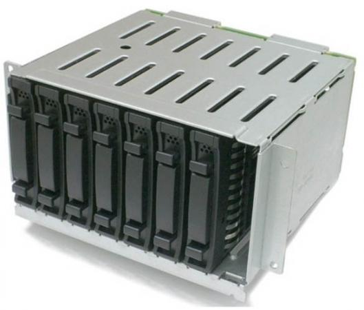 "лучшая цена Райзер Lenovo 7XH7A06254 ThinkSystem SR550/SR650 2.5"" SATA/SAS 8-Bay Backplane Kit"