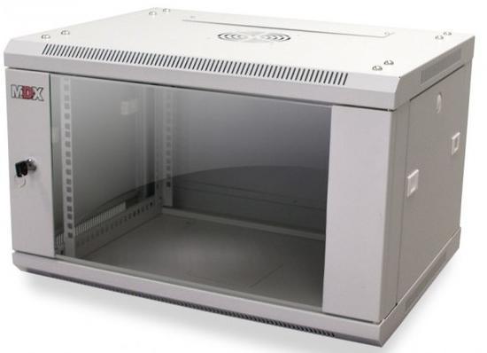 Шкаф MDX настенный 15U, глубина 450мм, дверь стекло, СЕРЫЙ. 1часть MDX-CW2-15U-6х4-GY шкаф tlk настенный 19 15u дверь стекло 530х732х600мм цельносварной серый