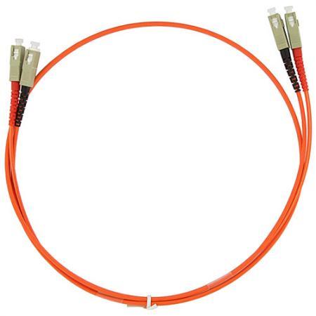Патч-корд оптический TopLan, дуплексный, SC/PC-SC/PC, MM 50/125, 1.0 м