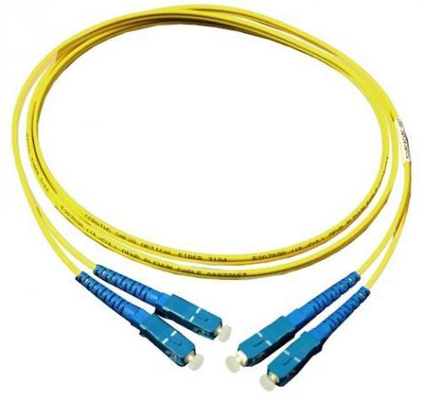 Патч-корд оптический TopLan, дуплексный, SC/UPC-SC/UPC, SM, 1.0 м hyperline fc d2 9 lc ur sc ur h 5m lszh yl патч корд волоконно оптический шнур sm 9 125 os2 lc upc sc upc duplex lszh 5 м