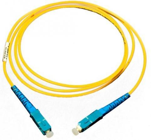 Патч-корд оптический TopLan, симплексный, SC/UPC-SC/UPC, SM, 1.0 м