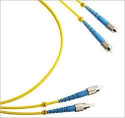 Патч-корд оптический TWT, дуплексный, FC/UPC-FC/UPC, SM, 0.5 м