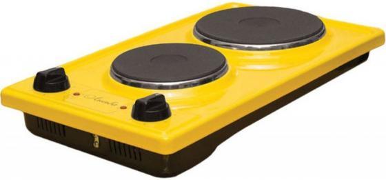 Плита Электрическая Лысьва ЭПБ 22 желтый эмаль (настольная)