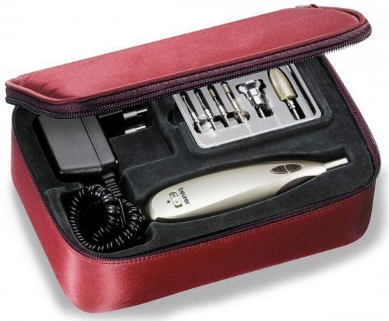 Маникюрно-педикюрный набор Beurer MP60 насадок в компл.:9шт золотистый