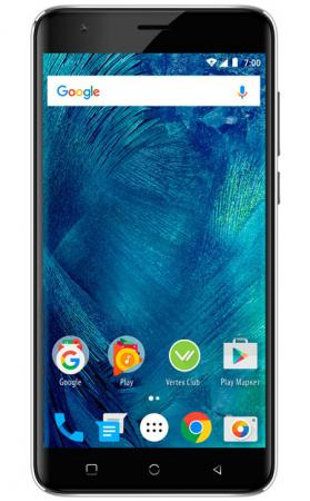Смартфон Vertex Impress Play черный 5.5 32 Гб LTE Wi-Fi GPS 3G VRX-VPL-BLK смартфон micromax q3551 bolt juice 3g 8gb champagne