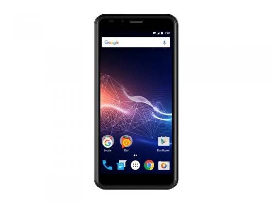 "Смартфон Vertex Impress Click (VRX-VCLCK-GLD) MediaTek MT6580 (1.3) / 1GB / 8GB / 5"" 960x480 IPS / 2Sim / 3G / BT / Android 7.0 (Gold) смартфон lg k5 x220ds ds black gold android 5 1 mt6582 1300mhz 5 0 854x480 1024mb 8gb 3g edge hsdpa hspa [lgx220ds aciskg]"