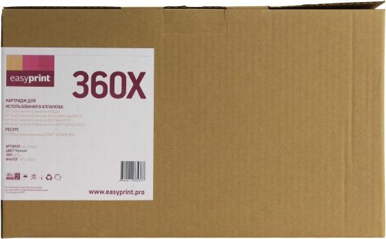 Фото - Картридж EasyPrint LH-CF360X Black (черный) 12500 стр для HP CLJ Enterprise Flow M577c/M552dn/M553/577 easyprint 37y картридж easyprint lh cf237y для hp lj enterprise m631 632 633 flow m631 632 633 41000 стр черный с чипом