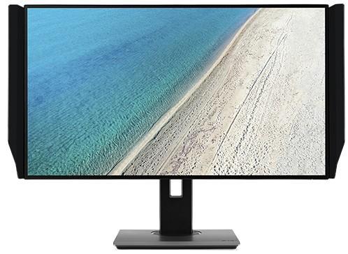 цена на Монитор 27 Acer ProDesigner PE270KBMIIPRUZX черный IPS 3840x2160 350 cd/m^2 6 ms HDMI DisplayPort USB UM.HP0EE.001