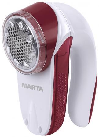 MARTA MT-2231 Машинка для удаления катышков красный гранат кофеварка marta mt 2113 красный гранат
