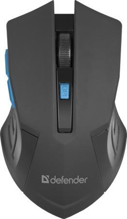 Мышь беспроводная Defender Accura MM-275 черно-синий USB цена и фото
