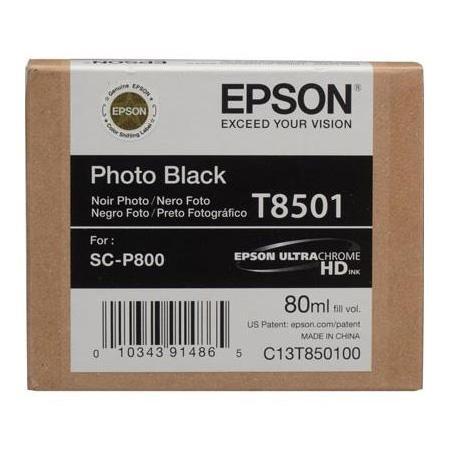 Фото - Картридж EPSON T8501 черный фото для SC-P800 фото