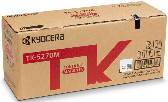 Фото - Тонер-картридж TK-5270M 6 000 стр. Magenta для M6230cidn/M6630cidn/P6230cdn тонер картридж kyocera tk 540m 1t02hlbeu0 magenta