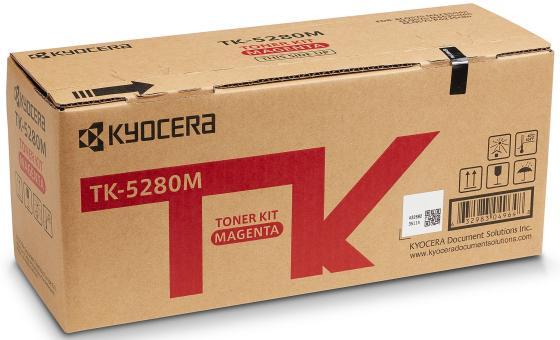 Фото - Тонер-картридж TK-5280M 11 000 стр. Magenta для M6235cidn/M6635cidn/P6235cdn тонер картридж kyocera tk 540m 1t02hlbeu0 magenta