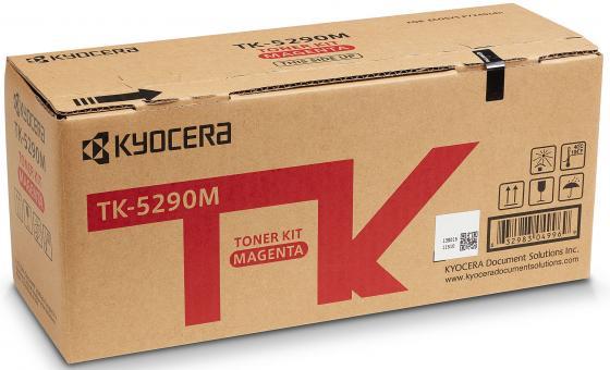 Тонер-картридж TK-5290M 13 000 стр. Magenta для P7240cdn тонер картридж kyocera mita tk 435