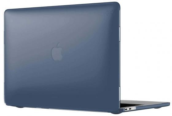 Чехол-накладка для ноутбука MacBook Pro 15 Speck SmartShell пластик синий 90208-1531 чехол для ноутбука macbook pro 13 speck smartshell glitter пластик прозрачный 90207 5636