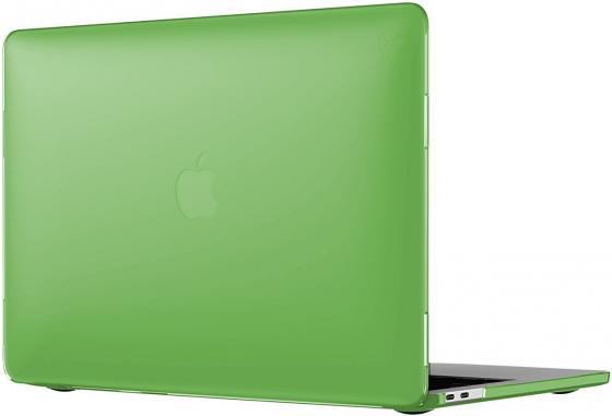 Чехол-накладка для ноутбука MacBook Pro 13 Speck SmartShell пластик зеленый 90206-5208 чехол для ноутбука macbook pro 13 speck smartshell glitter пластик прозрачный 90207 5636