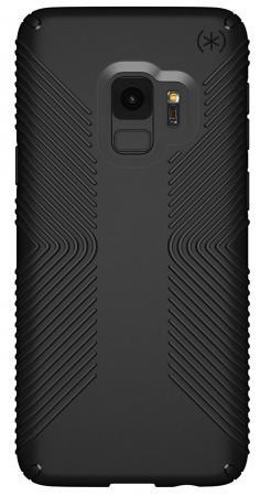 Чехол Speck Presidio Grip для Samsung Galaxy S9. Материал пластик. Цвет: черный/черный. presidio