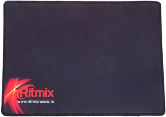 RITMIX MPD-050 Gaming Black Red {330*240*3 mm, игровая поверхность (Ковер для мыши), нескользящая основа из натурального каучука, тканевая поверхность, простроченные края} антенна ritmix rta 050 black