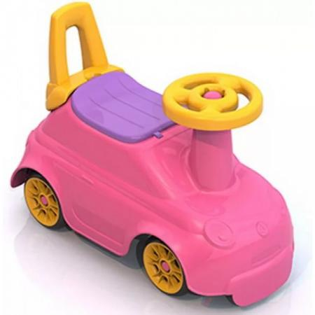 Каталка-беговел четырёхколёсный Нордпласт Крутышка розовый 431004-1 нордпласт нордпласт каталка кочевник