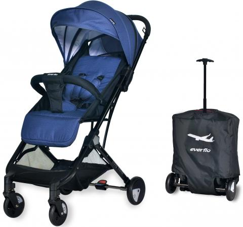 Коляска прогулочная Everflo Baby Travel E-330 (jeans) коляска 3 в 1 foppapedretti supertres travel system jeans rosso